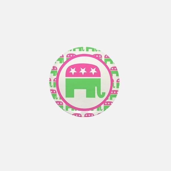 Preppy Republican Mini Button