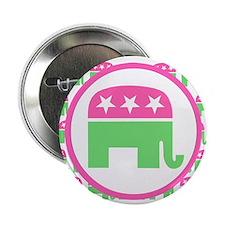 """Preppy Republican 2.25"""" Button"""
