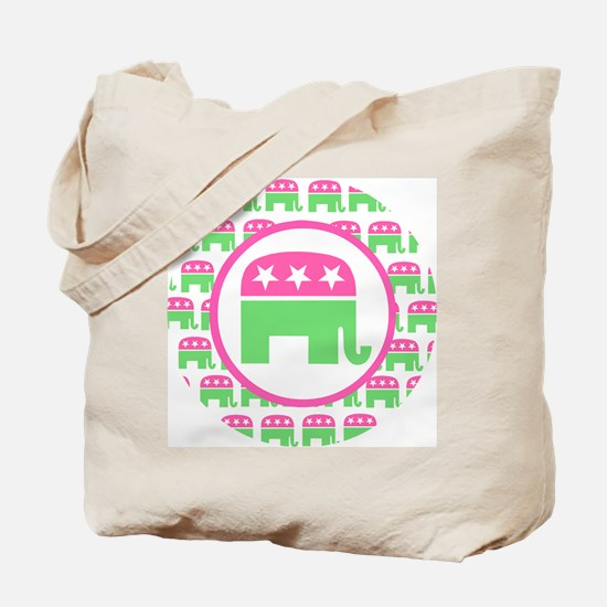 Preppy Republican Tote Bag