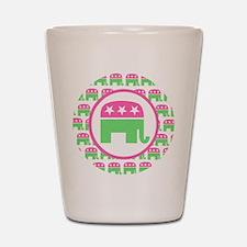 Preppy Republican Shot Glass