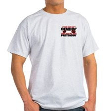 IF THE BAR AINT BENDIN' Ash Grey T-Shirt