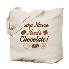 Camp Nurse Gift Funny Tote Bag