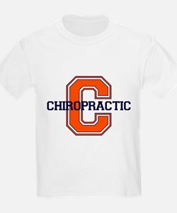 C is for Chiropractic Kids T-Shirt