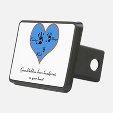 Personalized handprints Hitch Cover