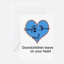 Personalized handprints Greeting Card