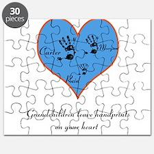 Personalized handprints Puzzle