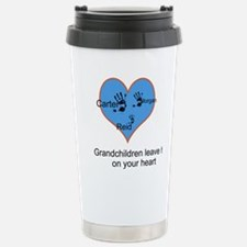 Personalized handprints Stainless Steel Travel Mug