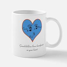Personalized handprints Mug