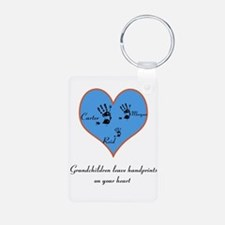 Personalized handprints Keychains