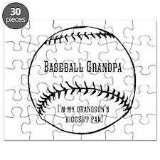 Baseball Grandpa Puzzle