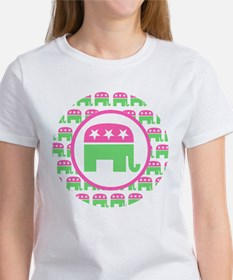 Preppy Republican Women's T-Shirt