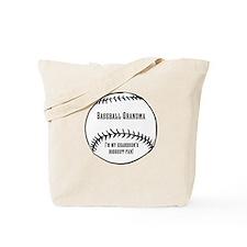 Baseball Grandma Tote Bag