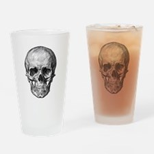 Skull / Bones Drinking Glass