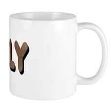 GRIZZLY-BROWN FELT LOOKING TE Mug