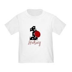 1st Birthday Ladybug - Lindsay - Custom T