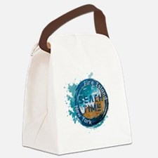 Fire island Canvas Lunch Bag