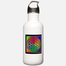 Flower of Life Water Bottle