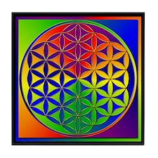 Flower of Life Tile Coaster