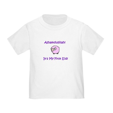 Muslim Baby Girl First Eid Tee-Shirt