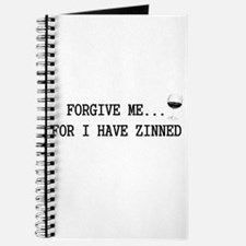 Forgive me... for I have zinned Journal