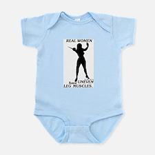 Real Women Infant Bodysuit