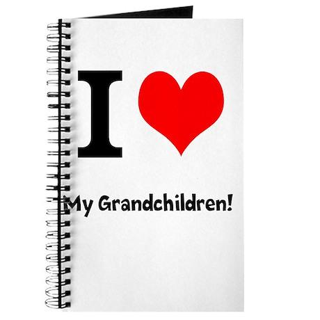 I love my grandchildren Journal