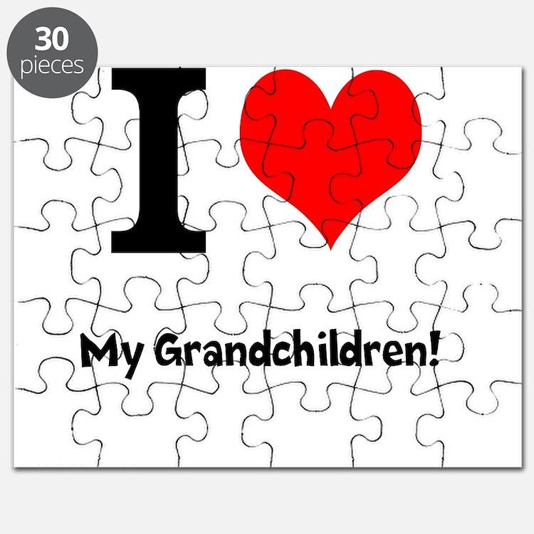 I love my grandchildren Puzzle