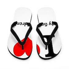 I love my grandchildren Flip Flops
