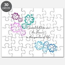 Grandchildren are flowers Puzzle