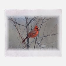 Cardinal 2 (signed)09.JPG Throw Blanket