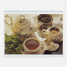 Time for Tea hanging wall calendar