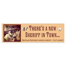 New Sheriff Bumper Sticker