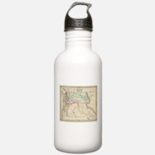 Vintage Map of Washing Water Bottle