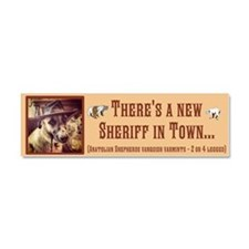 New Sheriff Car Magnet 10 x 3