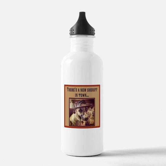 New Sheriff Sports Water Bottle