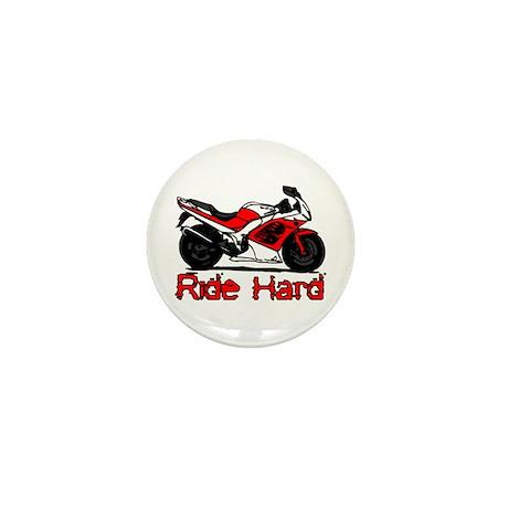 Ride Hard Mini Button (10 pack)