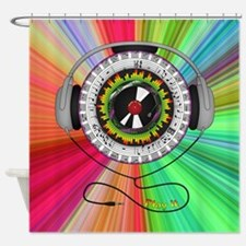 Music of Life Shower Curtain