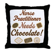 Nurse Practitioner Gift Funny Throw Pillow