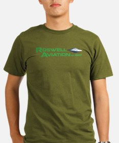 Roswell Aviation T-Shirt