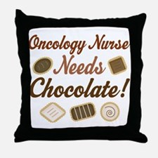Oncology Nurse Gift Funny Throw Pillow