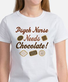 Psych Nurse Gift Funny Tee