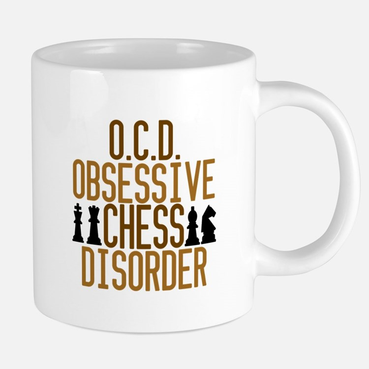 Funny Chess Addict Mugs