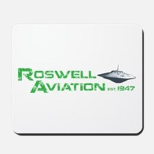 Roswell Aviation Mousepad