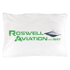 Roswell Aviation Pillow Case