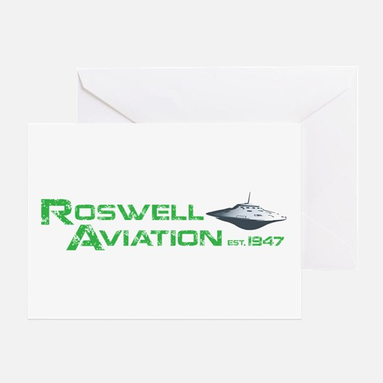 Roswell Aviation Greeting Card