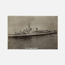 USS ENGLISH Rectangle Magnet