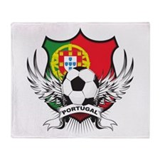 Portugal World Cup Soccer Throw Blanket
