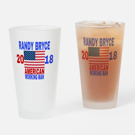 Funny Bryce Drinking Glass