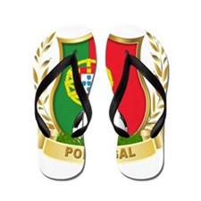 Portugal World Cup Soccer Flip Flops