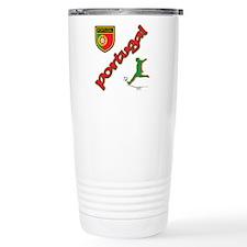 Portugal World Cup Soccer Travel Mug